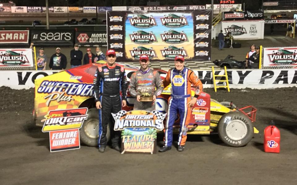 stewart friesen valusia 2nd Thursday DIRTcar Nationals at Volusia Speedway